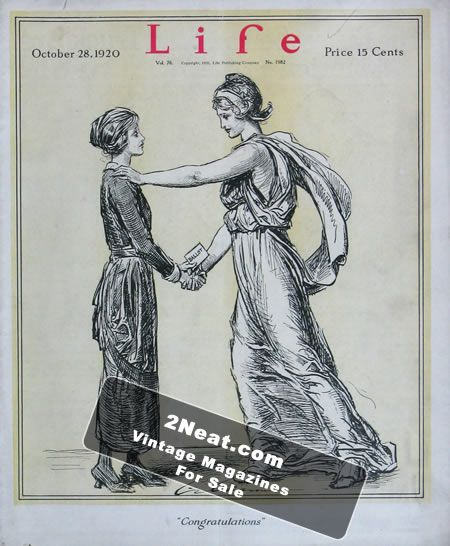 LIFE 1920