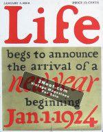 Life Magazine - January 3, 1924