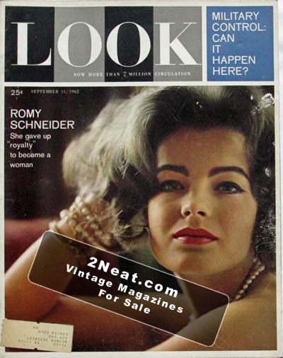 For Sale - LOOK Magazine - September 11, 1962