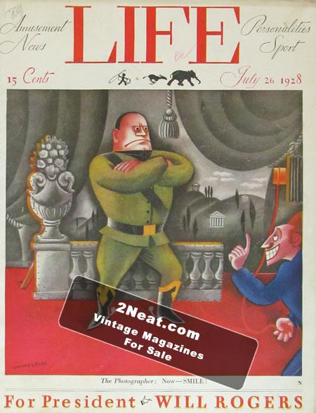 LIFE 1928 | 2Neat Magazines | Vintage LOOK Magazines and LIFE