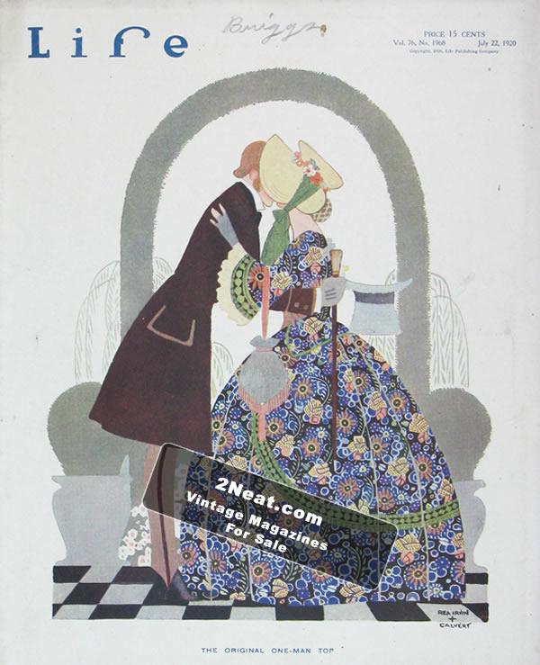 LIFE 1920 | 2Neat Magazines | Vintage LOOK Magazines and