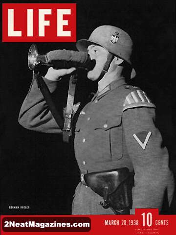 For Sale Life Magazine March 28 1938 German Soldier