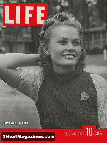 LIFE 1940 | 2Neat Magazines | Vintage LOOK Magazines and