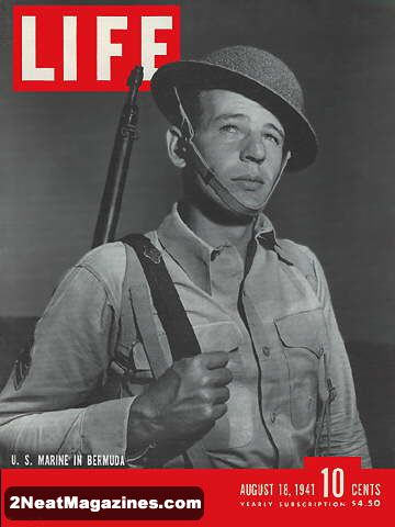 Bill Of Sale Example >> For Sale - Life Magazine August 18, 1941 - Marine Corps ...
