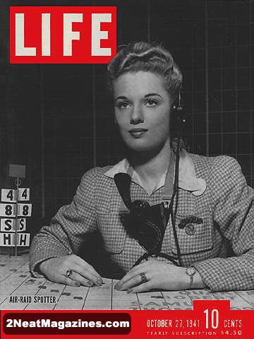 Life Magazine Covers 1942