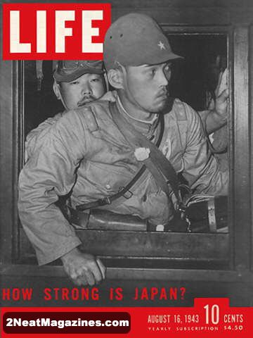 For Sale Life Magazine August 16 1943 Japan 2neat