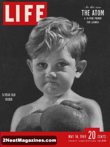 for sale life magazine may 16 1949 young boxer 2neat magazines. Black Bedroom Furniture Sets. Home Design Ideas