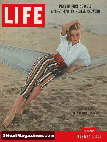 For Sale Life Magazine February 1 1954 Tropical
