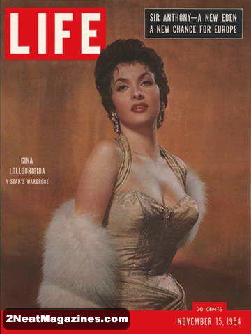 For Sale Life Magazine November 15 1954 Gina