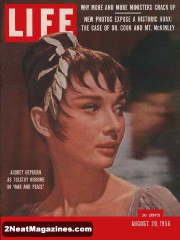 For Sale Life Magazine August 20 1956 Audrey Hepburn