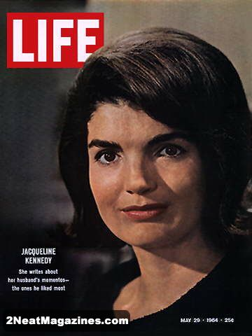 For Sale - Life Magazine May 29, 1964 - Jackie Kennedy | 2Neat Magazines