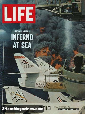Bill Of Sale Example >> For Sale - Life Magazine August 11, 1967 - Forrestal ...