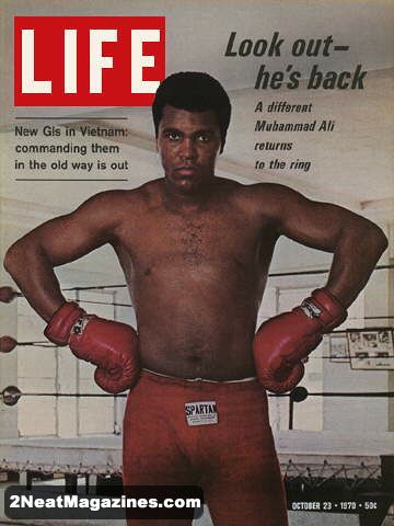 for sale life magazine october 23 1970 muhammad ali 2neat