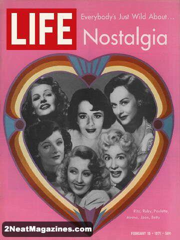 For Sale Life Magazine February 19 1971 Nostalgia