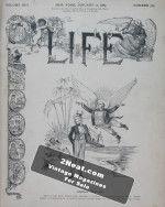 Life Magazine – January 10, 1889