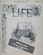Life Magazine – January 24, 1889