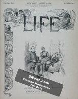 Life Magazine – January 31, 1889