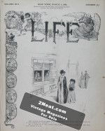 Life Magazine – March 7, 1889
