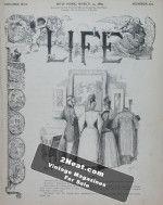 Life Magazine – March 14, 1889