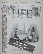 Life Magazine – March 21, 1889