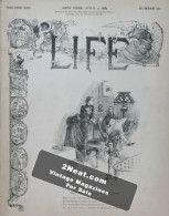 Life Magazine – April 4, 1889