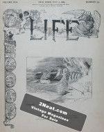 Life Magazine – May 9, 1889