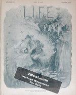 Life Magazine – June 6, 1889