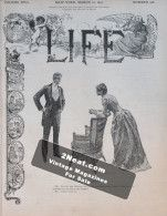 Life Magazine – March 12, 1891