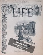 Life Magazine – May 25, 1893