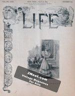 Life Magazine – July 20, 1893