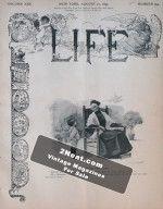 Life Magazine – August 10, 1893