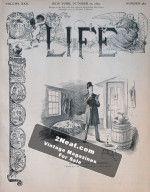 Life Magazine – October 12, 1893