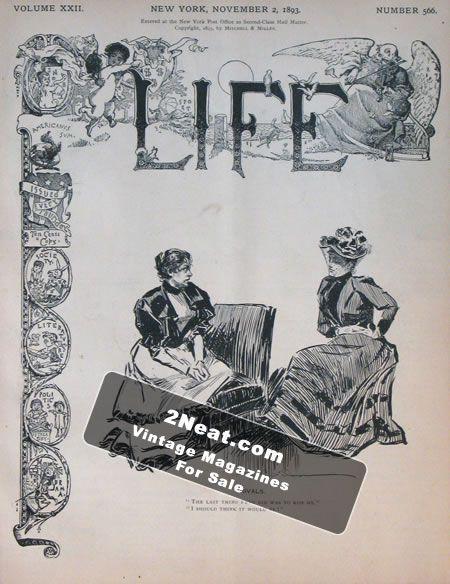 Life magazine November 2 1969, Vol. 67 no. 21,