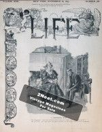Life Magazine – November 16, 1893