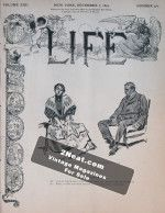 Life Magazine – December 7, 1893