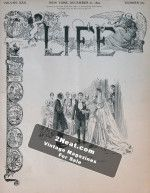 Life Magazine – December 21, 1893