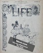 Life Magazine – August 8, 1895