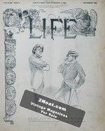 Life Magazine – September 5, 1895