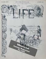 Life Magazine – October 3, 1895