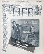 Life Magazine – October 10, 1895