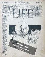 Life Magazine – October 31, 1895