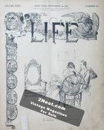 Life Magazine – November 14, 1895