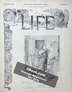 Life Magazine – December 19, 1895