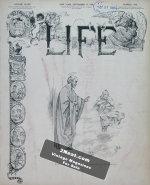 Life Magazine – September 27, 1906
