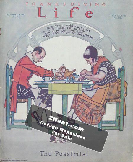Life Magazine, November 24th, 1927