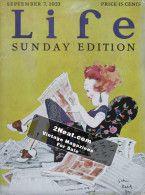 Life Magazine – September 7, 1922