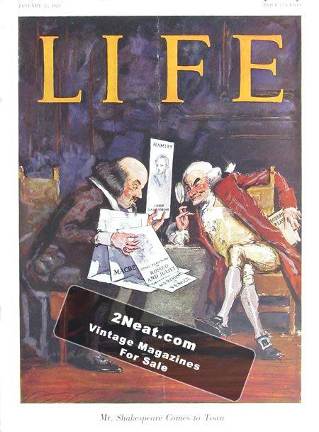 LIFE 1923