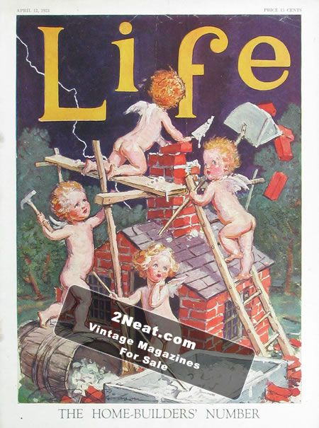 For sale life magazine april 12 1923 2110 for Home builder magazines