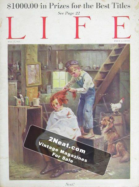 NICE MAGAZINE May 1963 Playboy Very Good 1st Femilin Malcolm X Shanon Cintron