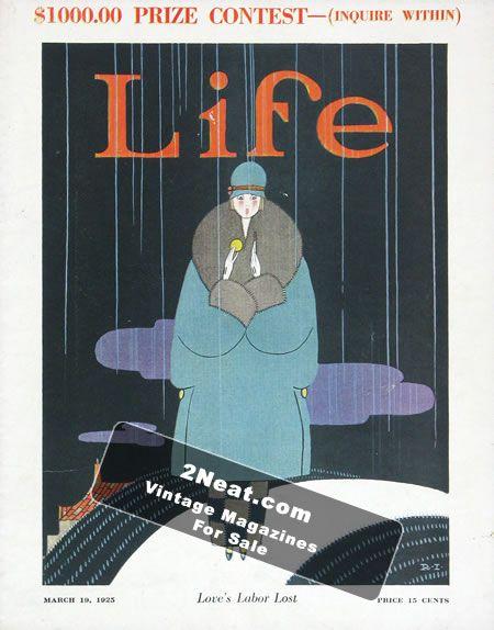 LIFE 1925